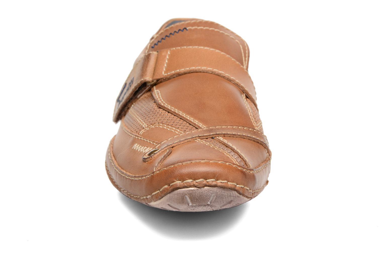 Chaussures à scratch Bugatti Bambao Marron vue portées chaussures