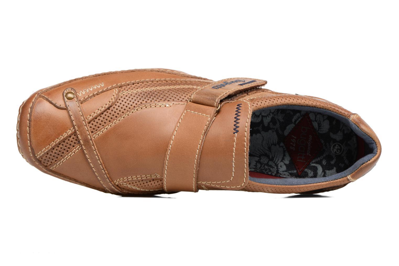 Chaussures à scratch Bugatti Bambao Marron vue gauche