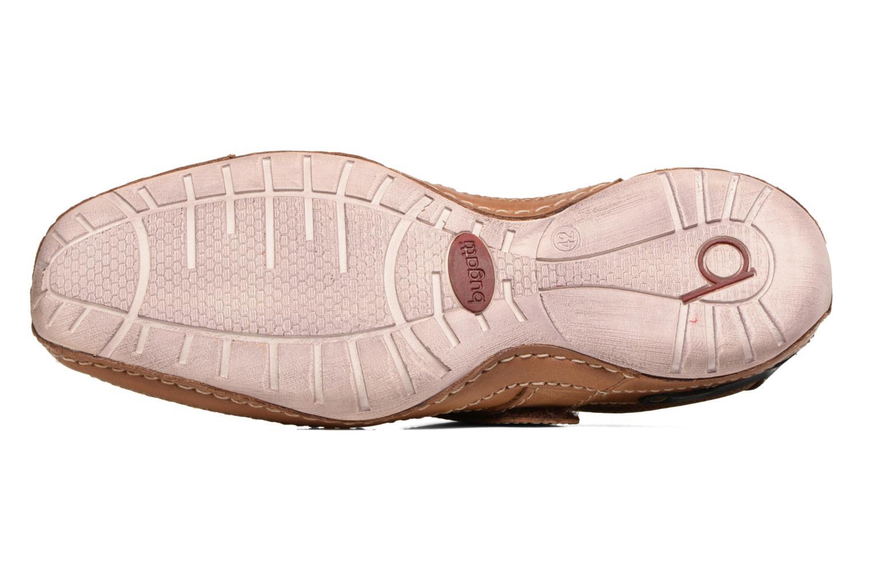 Chaussures à scratch Bugatti Bambao Marron vue haut