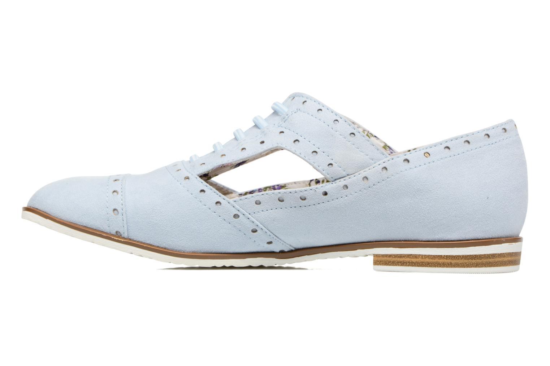Lace-up shoes I Love Shoes BLEST Blue front view