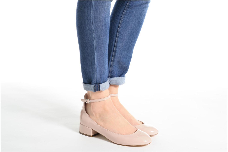 Bailarinas I Love Shoes BLIJ Rojo vista de abajo