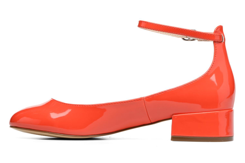 Bailarinas I Love Shoes BLIJ Rojo vista de frente