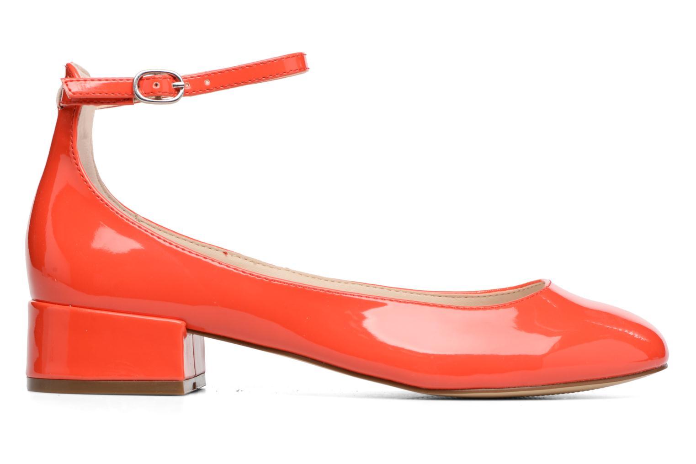 Bailarinas I Love Shoes BLIJ Rojo vistra trasera