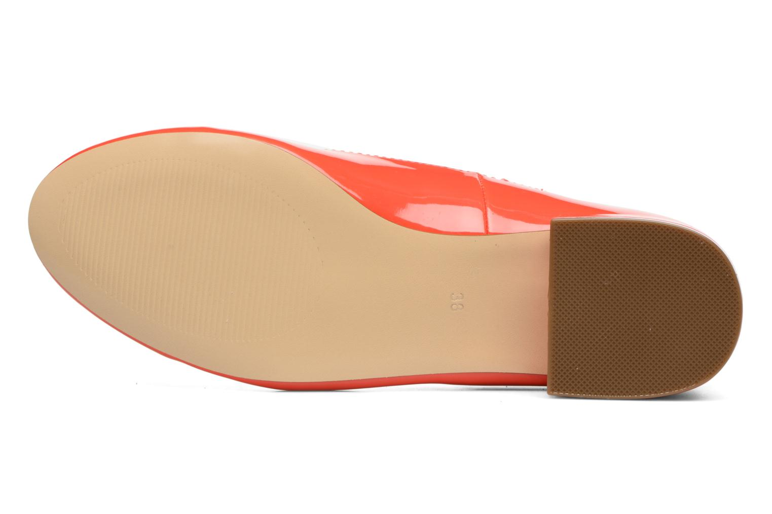 Ballet pumps I Love Shoes BLIJ Red view from above