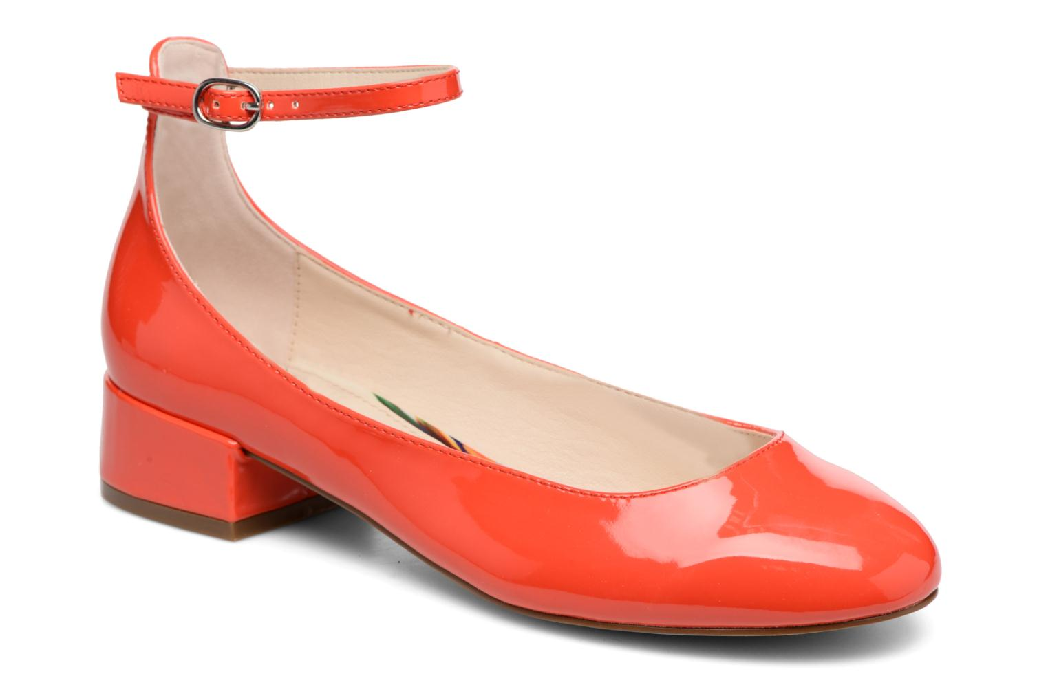 Ballet pumps I Love Shoes BLIJ Red detailed view/ Pair view