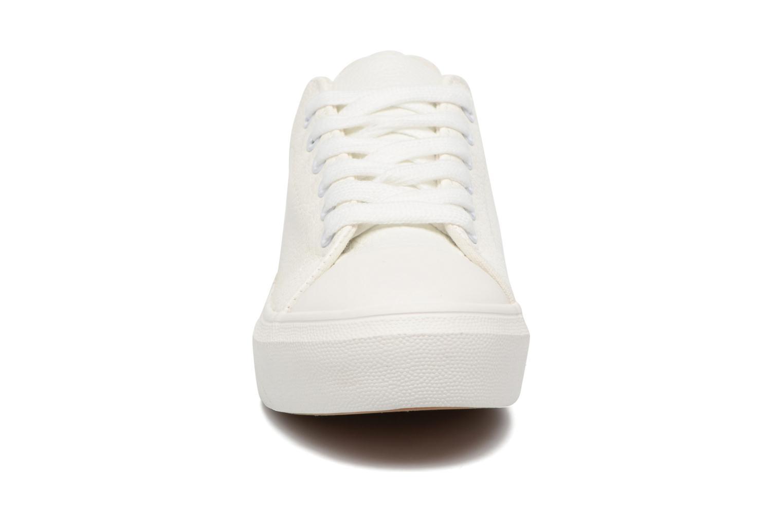 Baskets I Love Shoes BLIDE Blanc vue portées chaussures