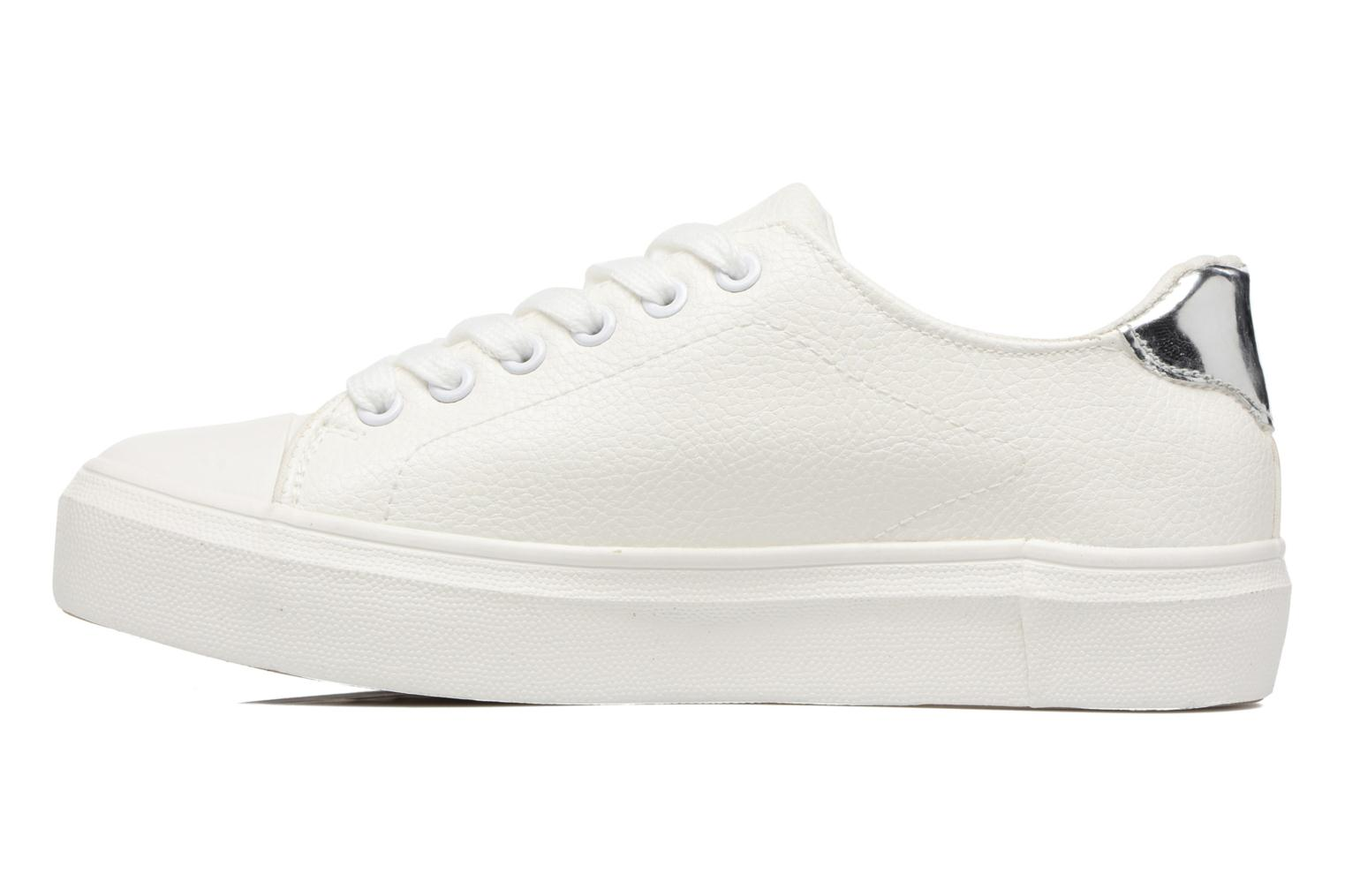 Trainers I Love Shoes BLIDE White front view