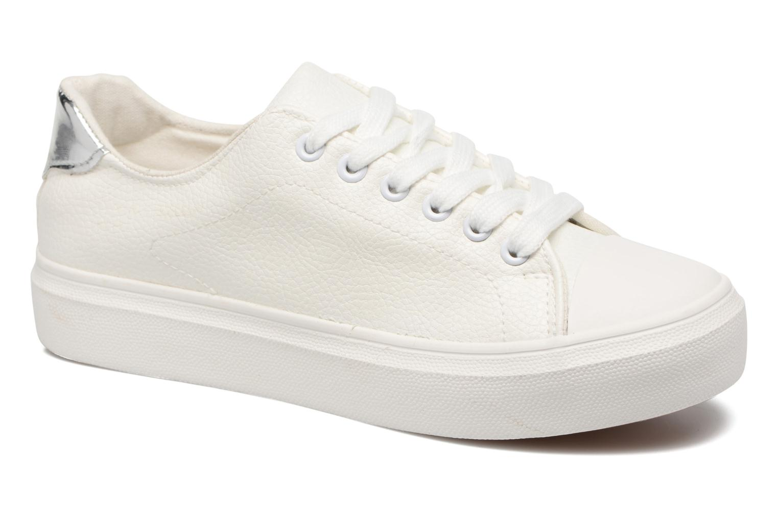 Trainers I Love Shoes BLIDE White detailed view/ Pair view