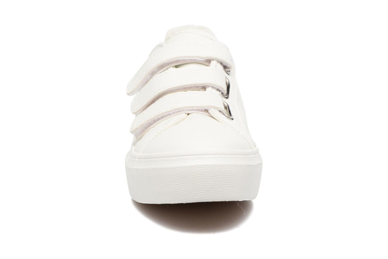 Baskets I Love Shoes BLOIVE Blanc vue portées chaussures