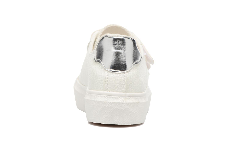 Baskets I Love Shoes BLOIVE Blanc vue droite