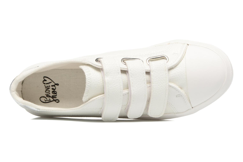 Baskets I Love Shoes BLOIVE Blanc vue gauche