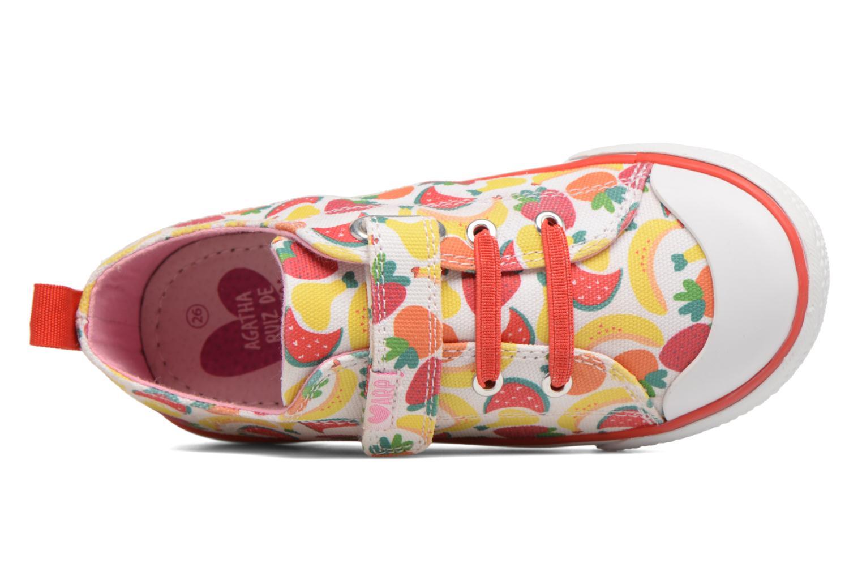 Baskets Agatha Ruiz de la Prada Lonas Baby Agatha 2 Multicolore vue gauche