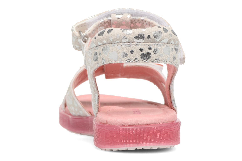 Sandales et nu-pieds Agatha Ruiz de la Prada Swing 1 Blanc vue droite