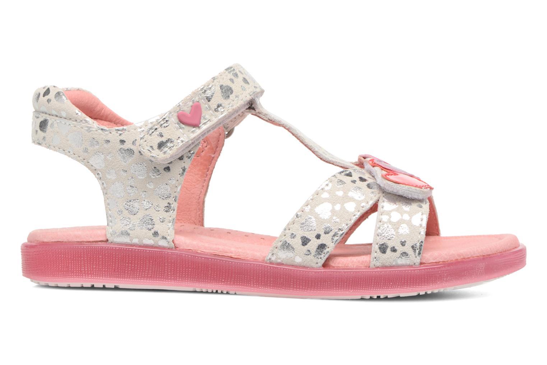 Sandales et nu-pieds Agatha Ruiz de la Prada Swing 1 Blanc vue derrière