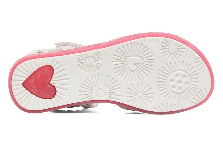Sandales et nu-pieds Agatha Ruiz de la Prada Swing 1 Blanc vue haut