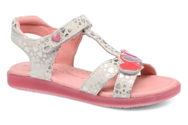 Sandales et nu-pieds Agatha Ruiz de la Prada Swing 1 Blanc vue détail/paire