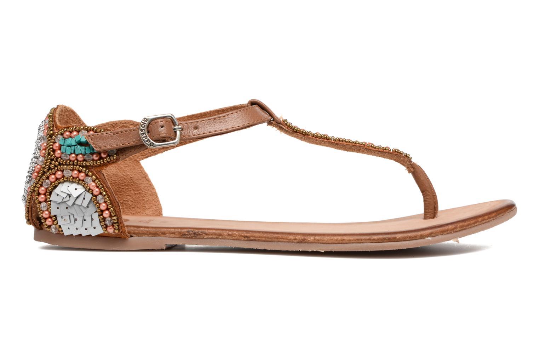 Sandales et nu-pieds Gioseppo Amira Marron vue derrière