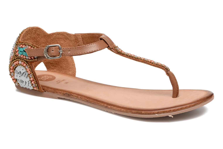 Sandales et nu-pieds Gioseppo Amira Marron vue détail/paire