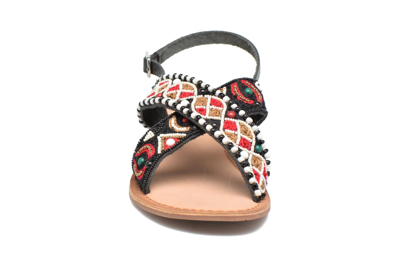Sandales et nu-pieds Gioseppo Mihai Noir vue portées chaussures