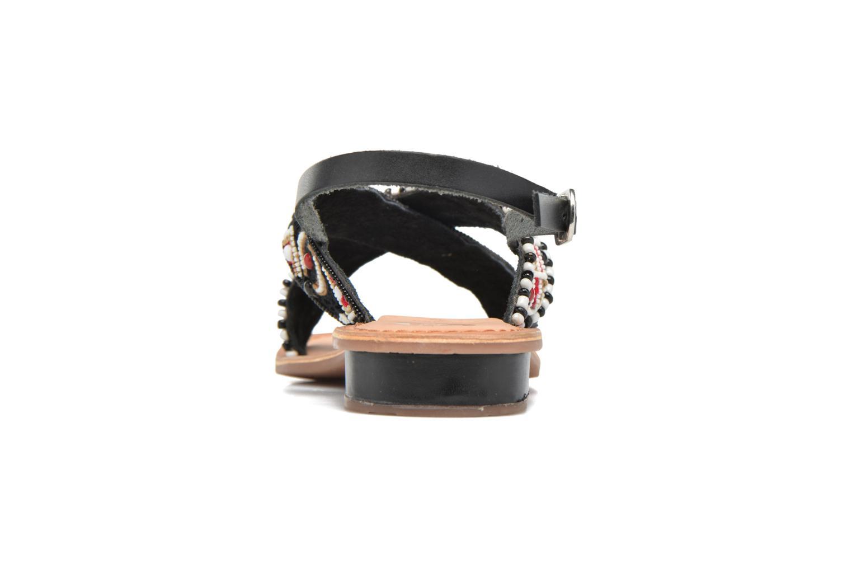 Sandales et nu-pieds Gioseppo Mihai Noir vue droite