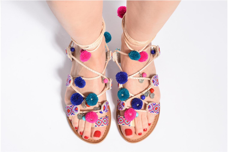 Sandales et nu-pieds Gioseppo New Omahas Multicolore vue bas / vue portée sac