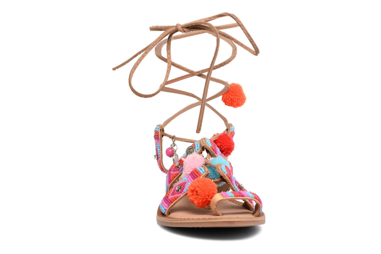 Sandales et nu-pieds Gioseppo New Omahas Multicolore vue portées chaussures