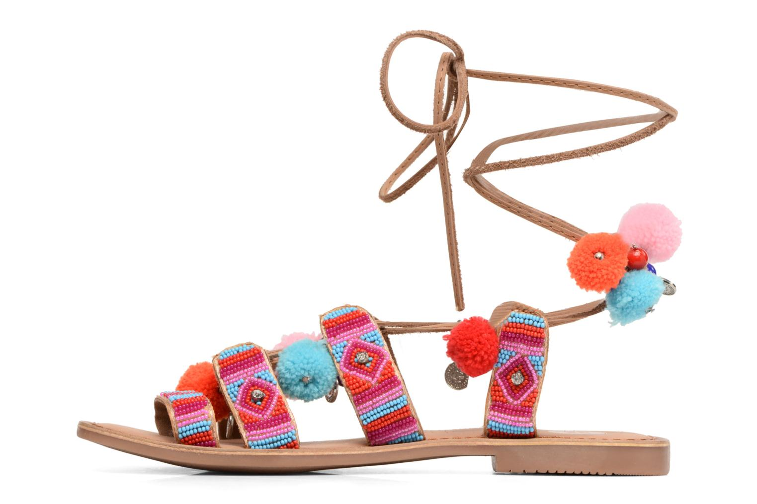 Sandales et nu-pieds Gioseppo New Omahas Multicolore vue face