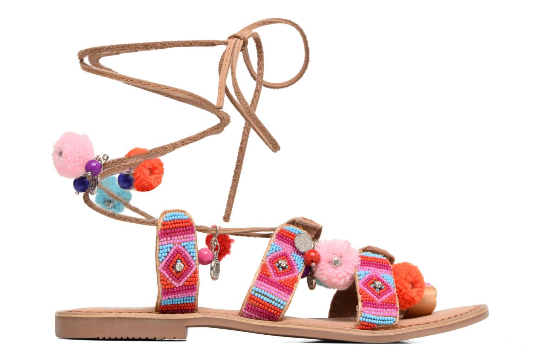 Sandales et nu-pieds Gioseppo New Omahas Multicolore vue derrière