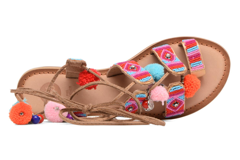 Sandales et nu-pieds Gioseppo New Omahas Multicolore vue gauche