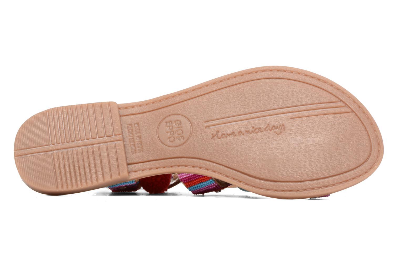 Sandales et nu-pieds Gioseppo New Omahas Multicolore vue haut