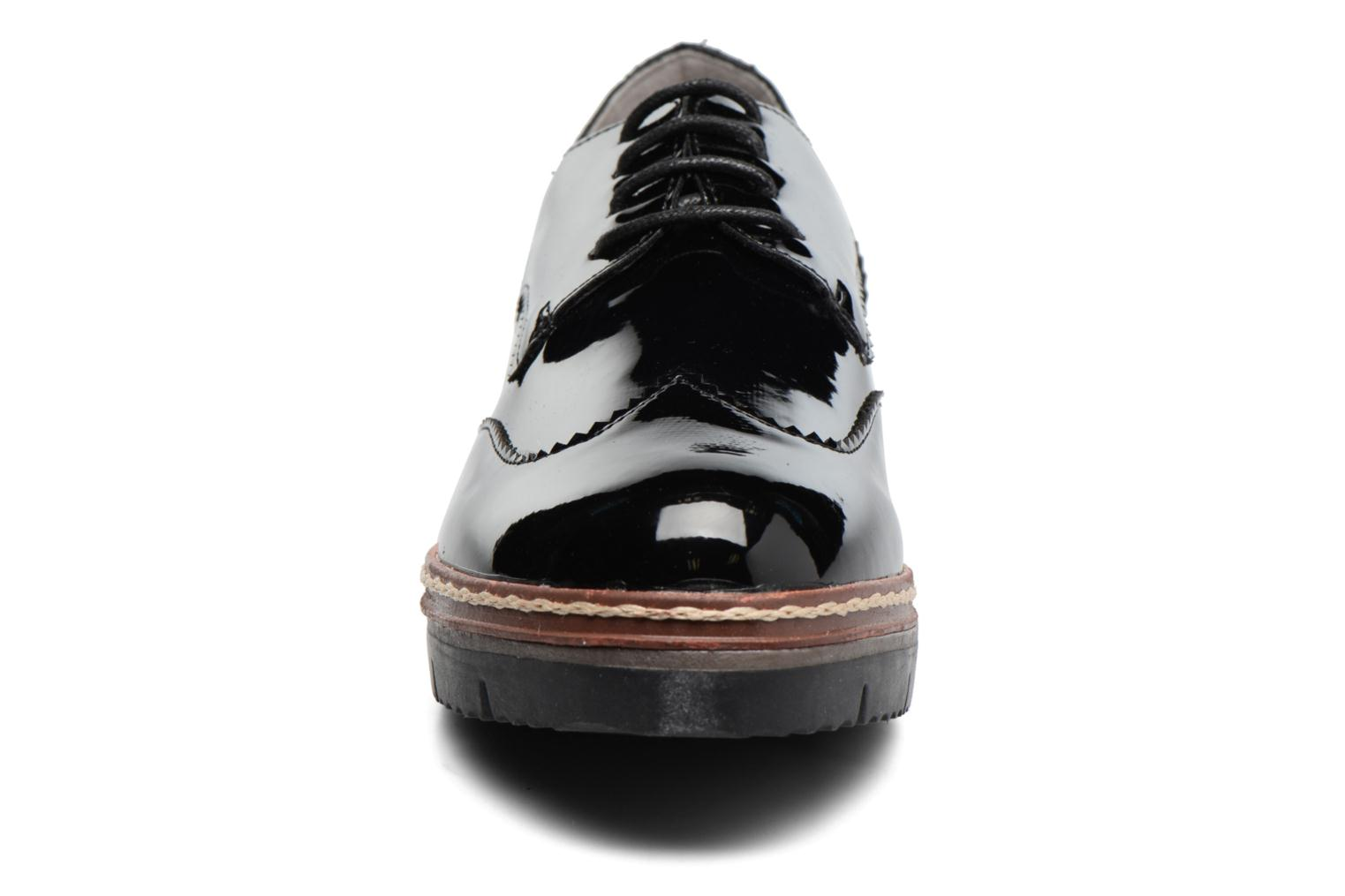 Lace-up shoes I Love Shoes thalweg Black model view