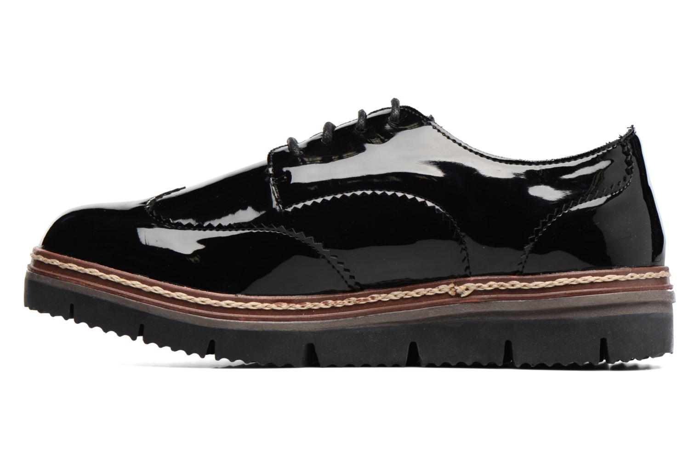 Schnürschuhe I Love Shoes thalweg schwarz ansicht von vorne