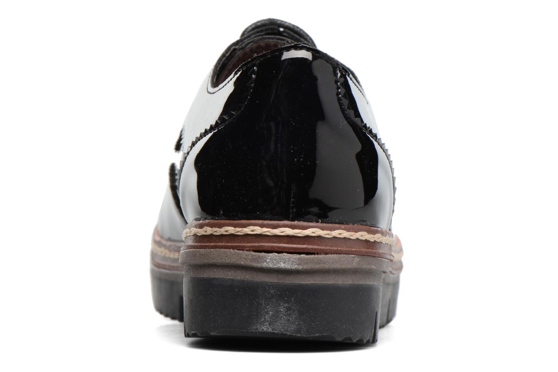 Schnürschuhe I Love Shoes thalweg schwarz ansicht von rechts