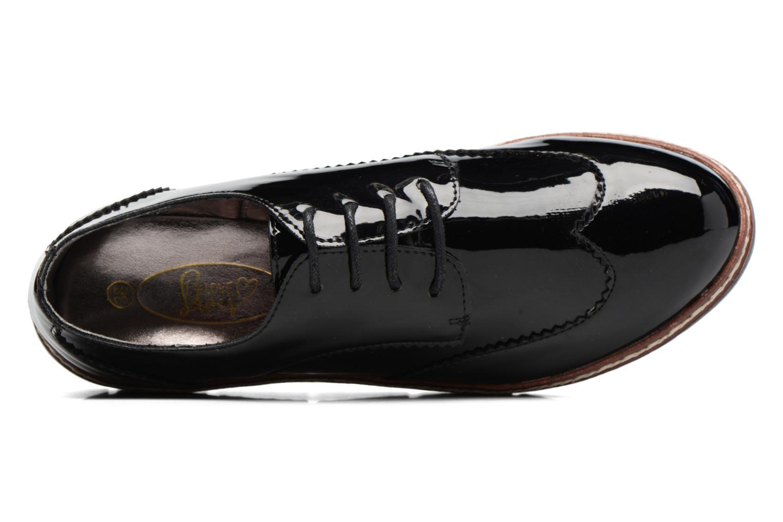 Schnürschuhe I Love Shoes thalweg schwarz ansicht von links
