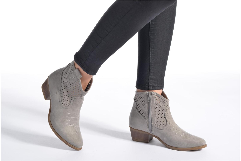 Botines  I Love Shoes thunbin Gris vista de abajo