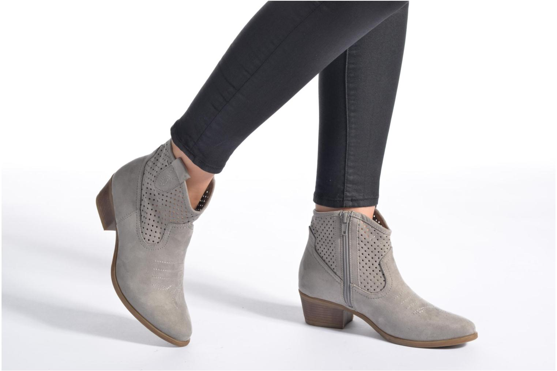 Bottines et boots I Love Shoes thunbin Gris vue bas / vue portée sac