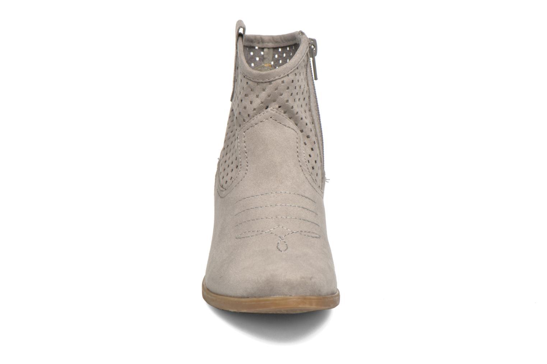 Bottines et boots I Love Shoes thunbin Gris vue portées chaussures