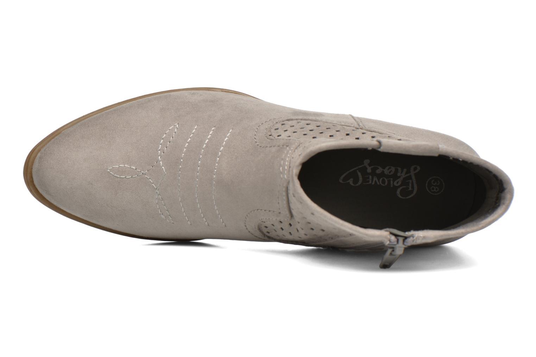 Botines  I Love Shoes thunbin Gris vista lateral izquierda