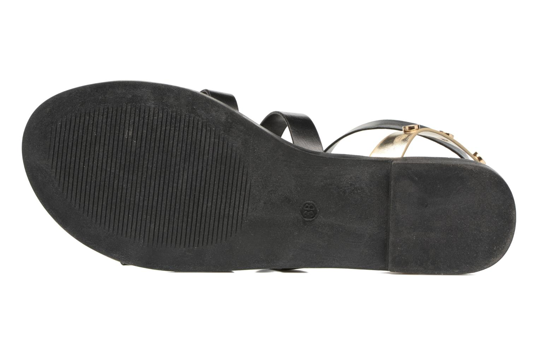 Sandales et nu-pieds I Love Shoes THEAHIGHT Noir vue haut