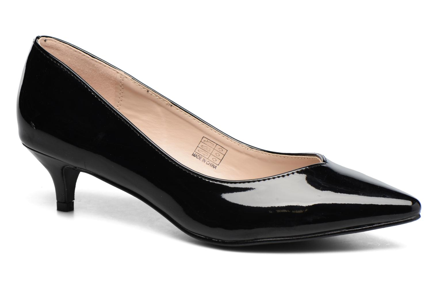 High heels I Love Shoes THORA Black detailed view/ Pair view