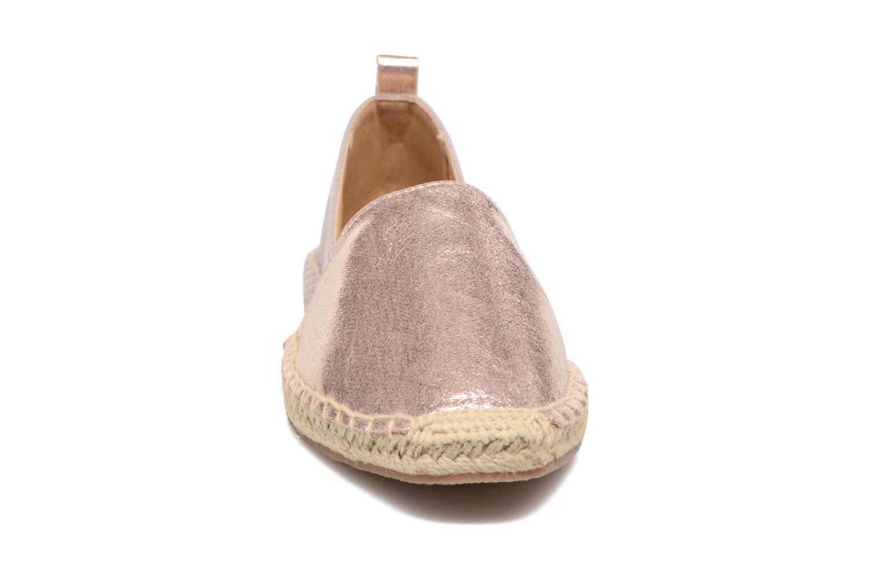 Alpargatas I Love Shoes THETE Rosa vista del modelo