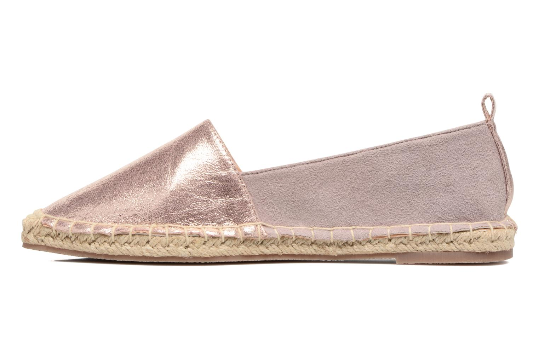 Espadrilles I Love Shoes THETE Rose vue face
