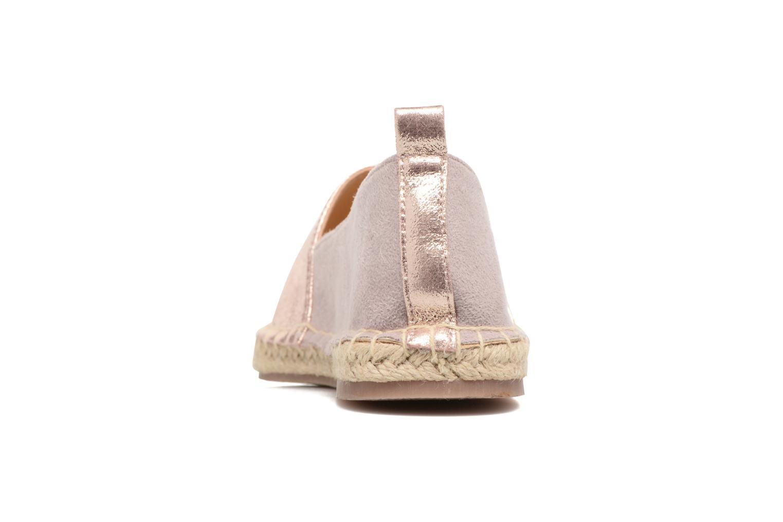 Espadrilles I Love Shoes THETE Rose vue droite