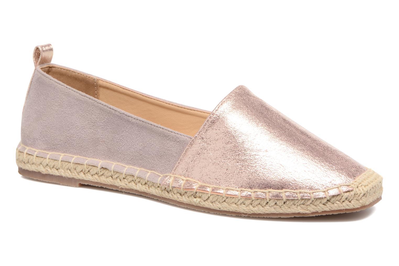 Alpargatas I Love Shoes THETE Rosa vista de detalle / par