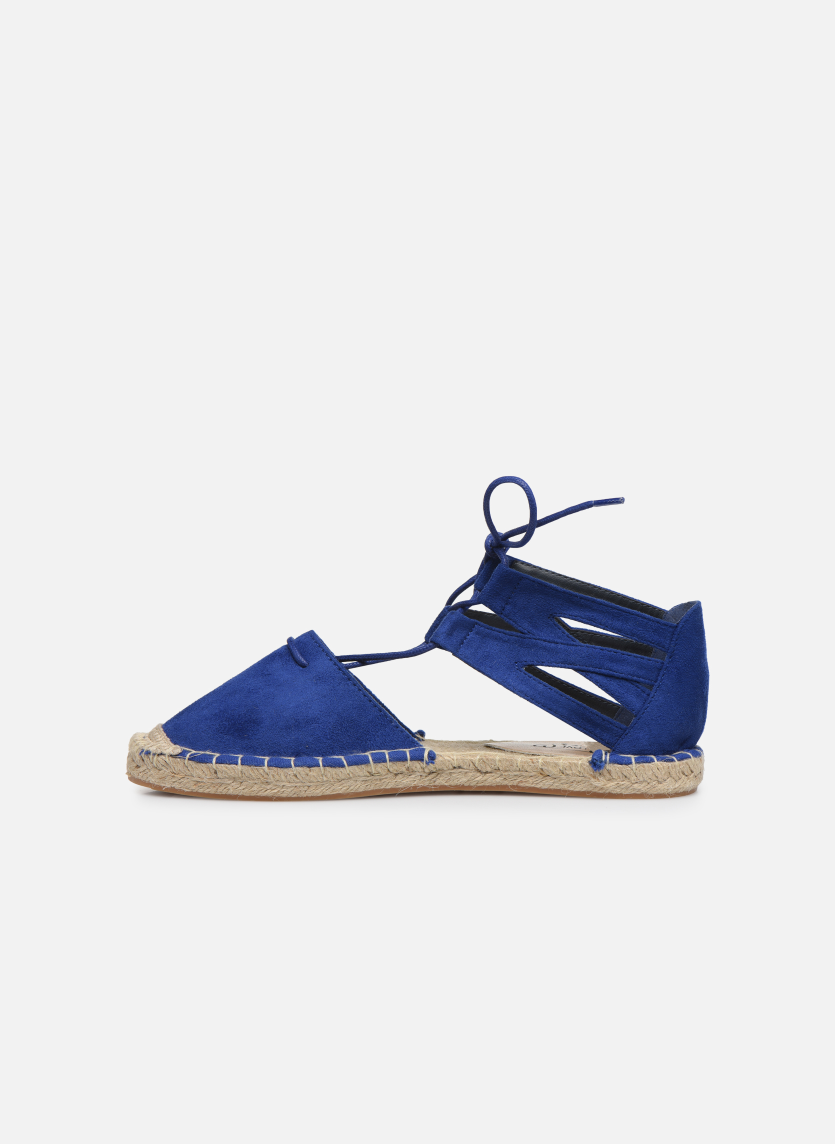 Alpargatas I Love Shoes THYADE Azul vista de frente