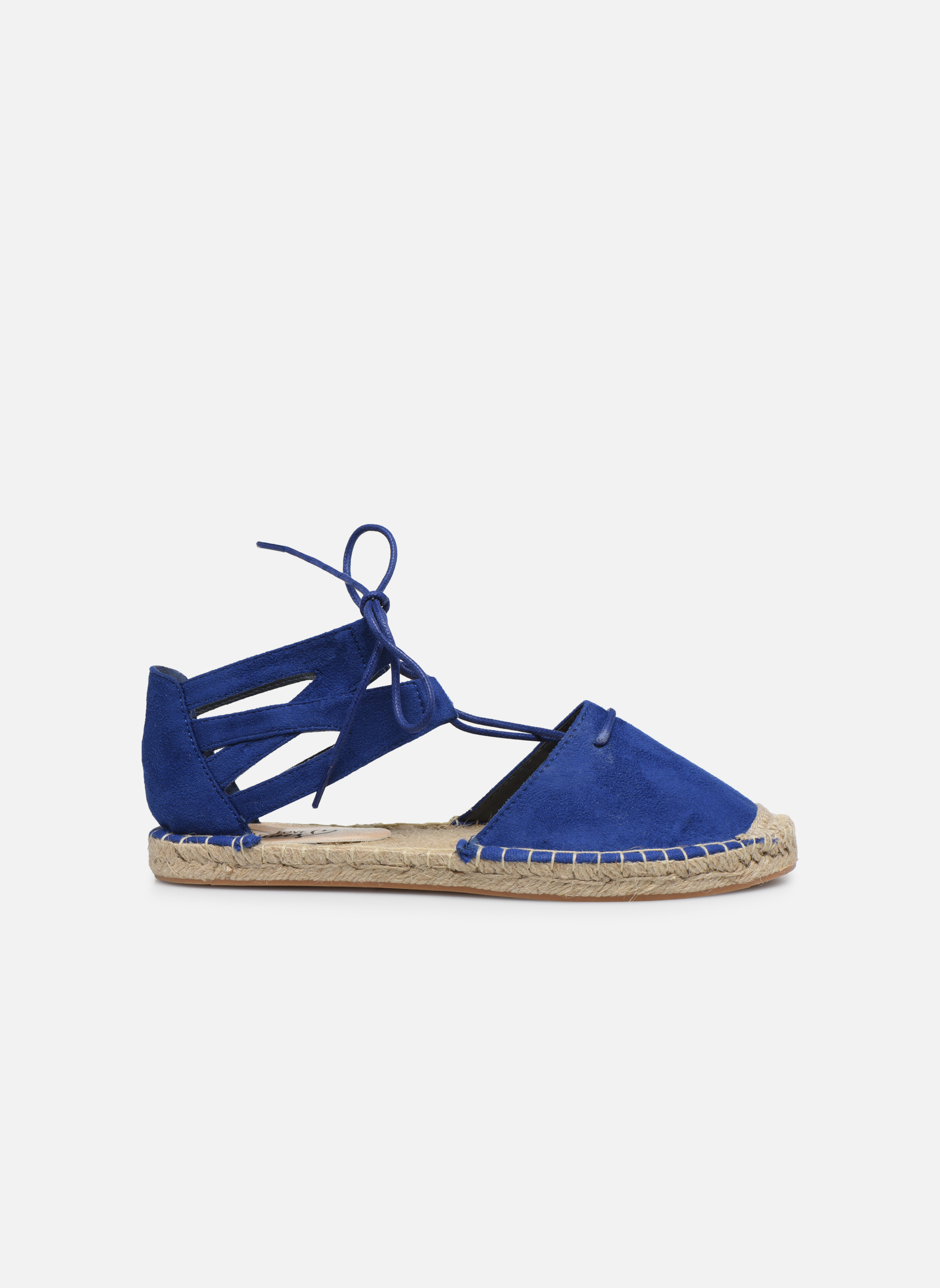 Alpargatas I Love Shoes THYADE Azul vistra trasera
