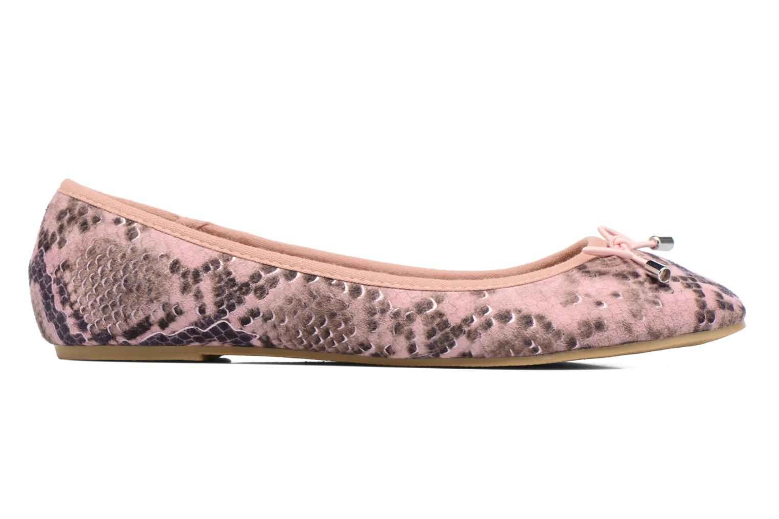 Ballet pumps I Love Shoes THENSELY Pink back view