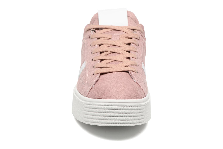 Deportivas I Love Shoes THEMI Rosa vista del modelo