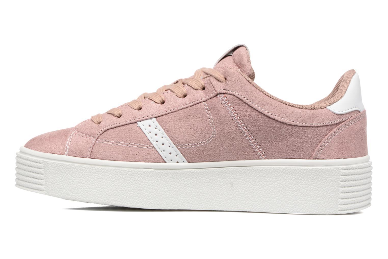 Deportivas I Love Shoes THEMI Rosa vista de frente