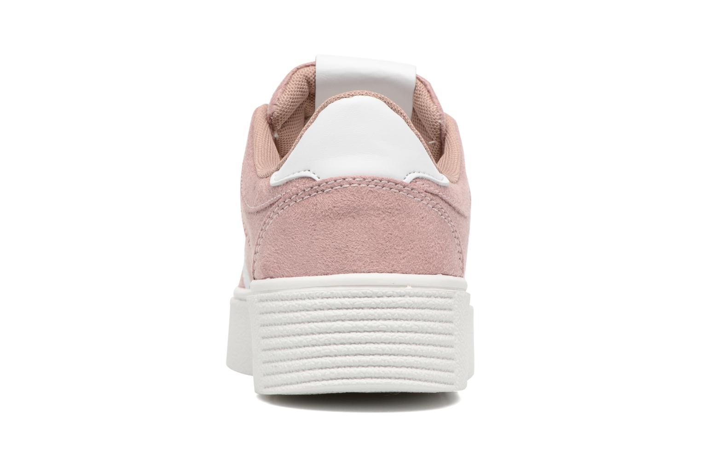 Deportivas I Love Shoes THEMI Rosa vista lateral derecha